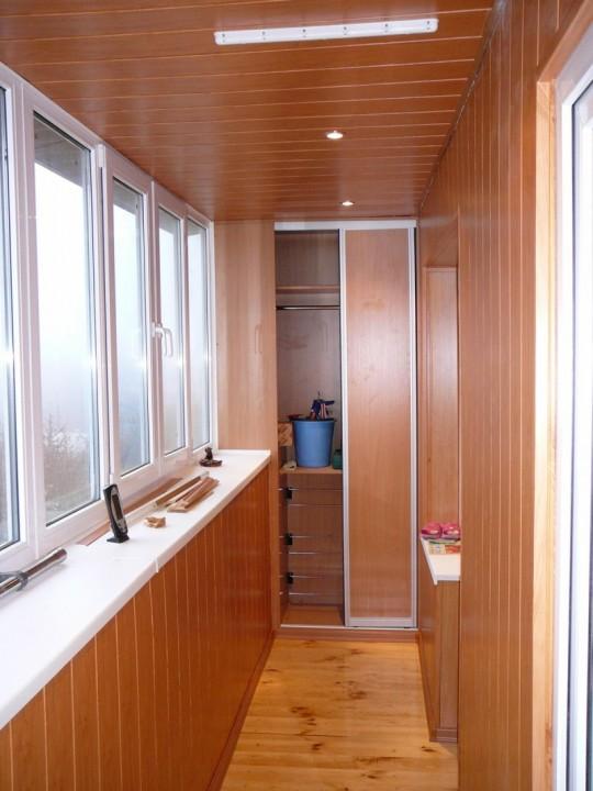 """Шкаф на балкон - заказать по доступной цене компания """"vse...."""