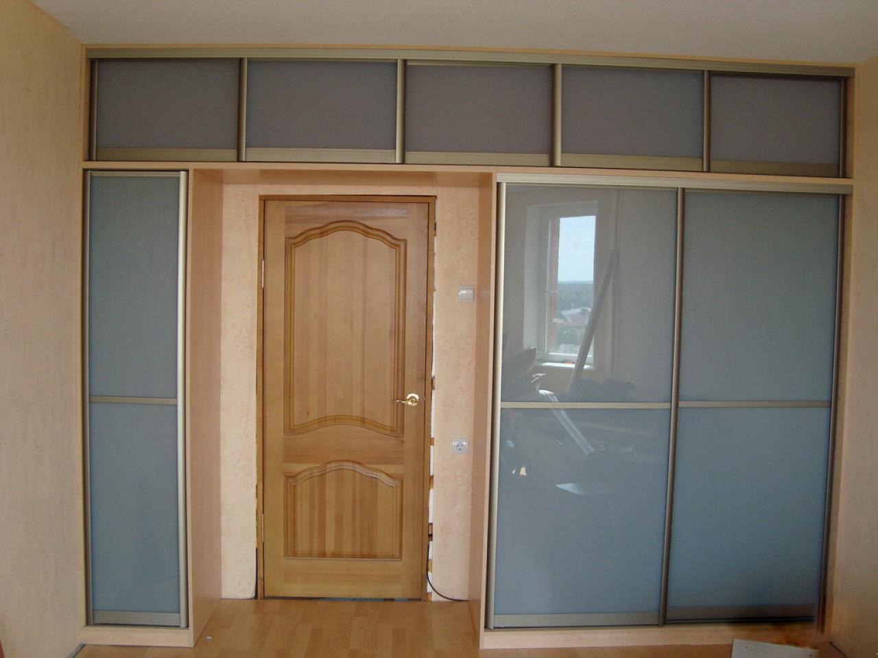 Шкаф с антресолью на заказ ( спальни, прихожей, комнаты, кор.